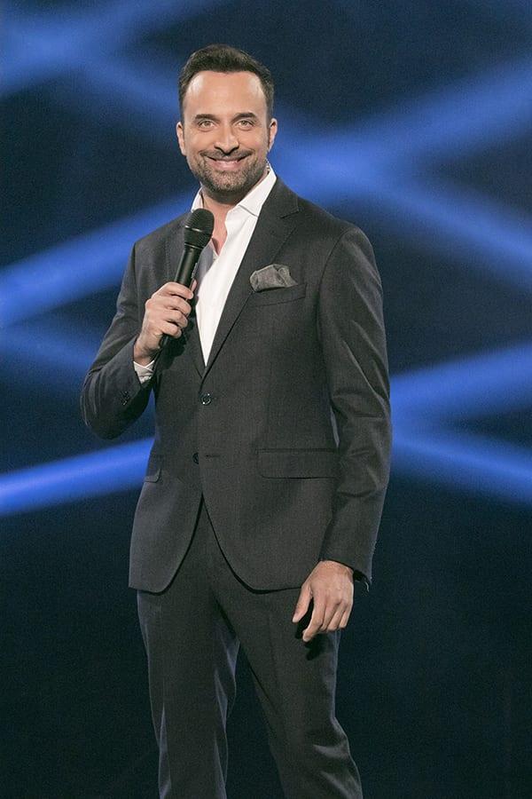 Ο παρουσιαστής του The Voice Γιωργος Λιανός