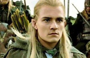 O Legolas από το Lord of the rings