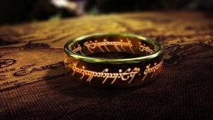 Το δαχτυλίδι από τις ταινίες lord of the rings