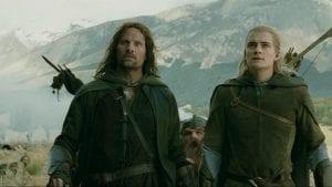 Ο λέγκολας και ο αραγκον στο lord of the rings