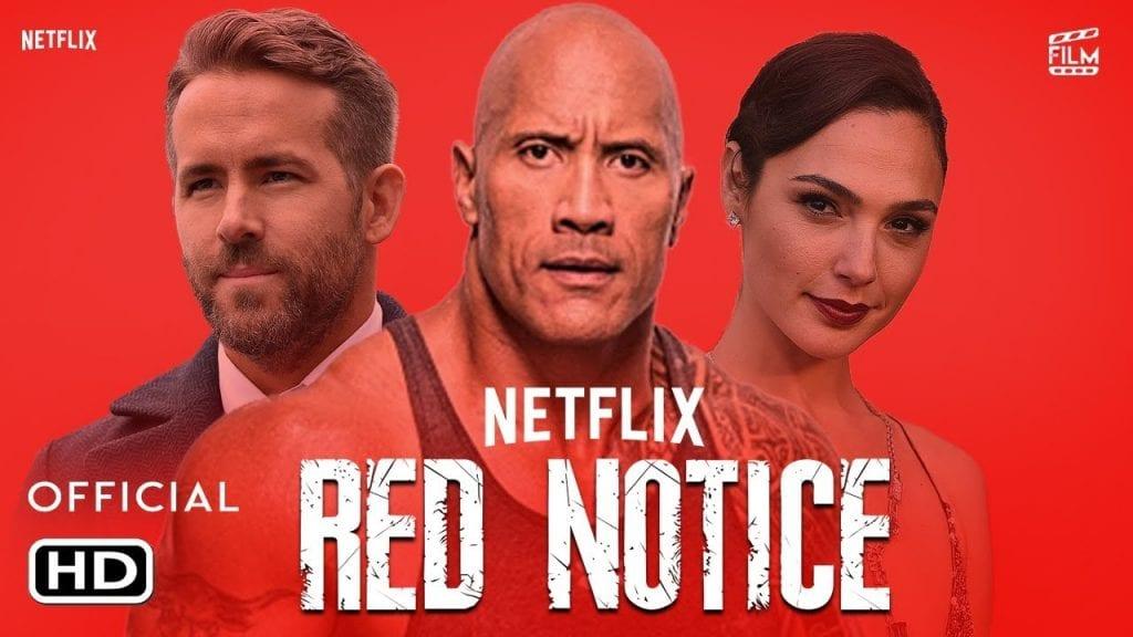 H ταινία Red Notice έρχεται το 2021 στο Netflix