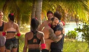 Η αγκαλιά του James και του Τριαντάφυλλου στο Survivor