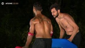 Ο καλίδης και ο περικλής στο σημερινό αγώνισμα Survivor