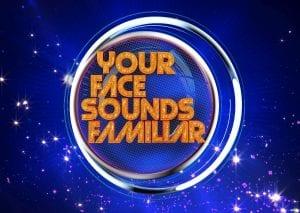 your face sounds familiar logo