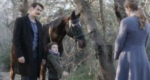 Ο Κωνσταντής και η Δρόσω με τον μικρό Σέργιο