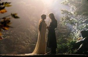 Ο Aragorn και η Arwen στον Άρχοντα των Δαχτυλιδιών