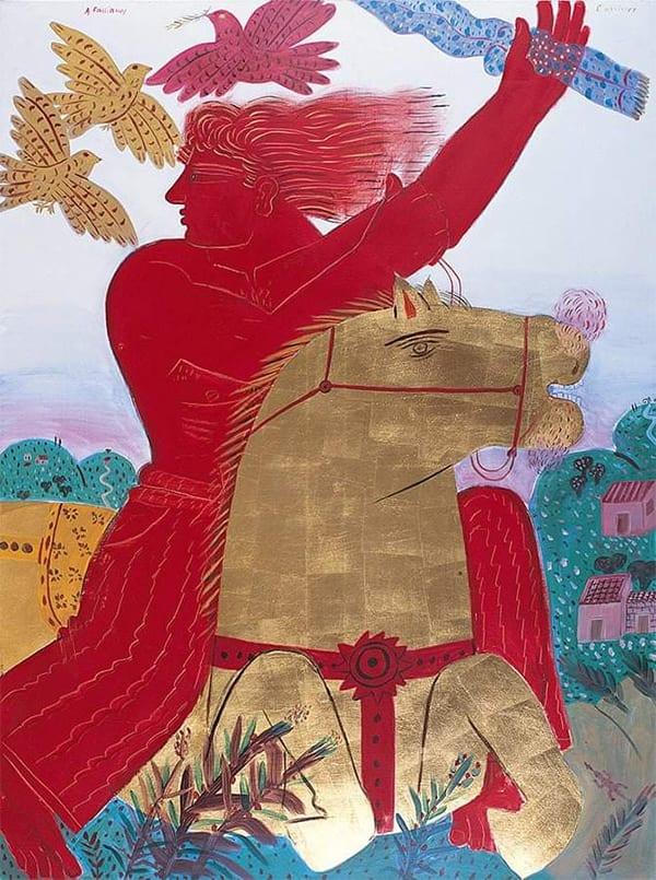 στις 2/2 μια μεγαλη τιμητική διάκριση δόθηκε στον ζωγράφο Αλέκο Φασιανό