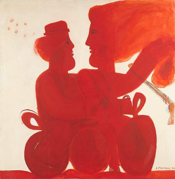 τιμητική διάκριση δόθηκε από το υπουργειο πολιτισμού της Γαλλάις στον ζωγράφο Αλέκο Φασιανό