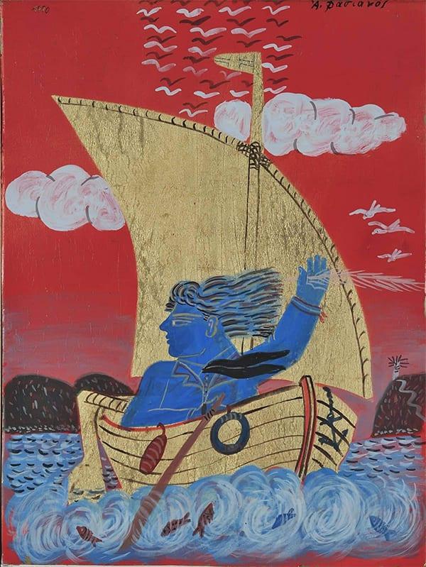 Πίνακας του μεγαλου ζψγραφου Φασιανού