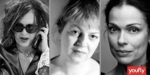 Πρωταγωνίστριες της σειράς Ζακέτα να Πάρεις στην ΕΡΤ