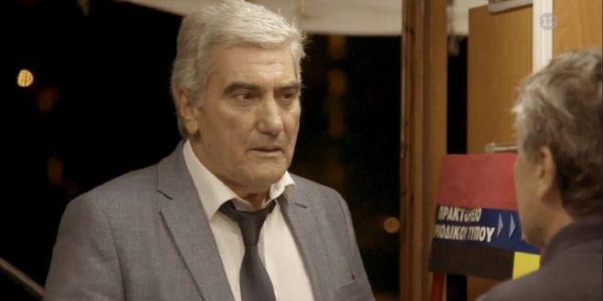 Ο Νίκος Νικολάου σε σειρά του MEGA