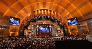 Φωτογραφία από την τελετή απονομής Tony Awards 2021 με τις υποψηφιότητες