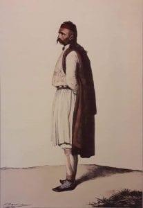Εικόνα αρματολού με τα μάτια του ζωγράφου