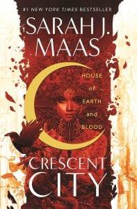 Εξώφυλλο από το House of Earth and blood, από τα καλύτερα βιβλία φαντασίας 2020