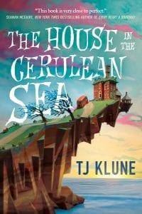 Εξώφυλλο από το The House in the Cerulean Sea