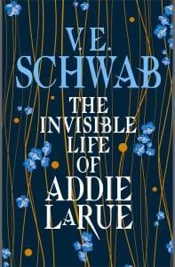 Εξώφυλλο από το The Invisible Life of Addie LaRue, από τα καλύτερα βιβλία φαντασίας 2020