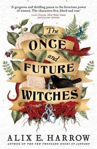 Εξώφυλλο από το The Once and Future Witches