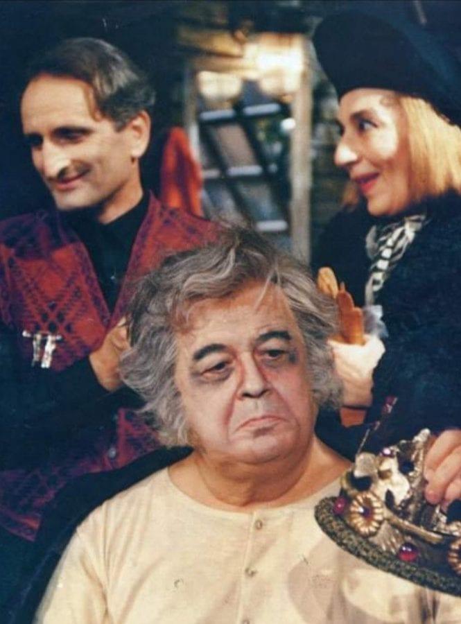 Φωτογραφία από παράσταση του 1990 στο θέατρο αθήναιον