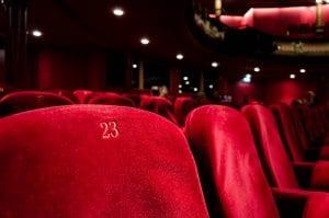 εικόνα από θέσεις στο σινεμά