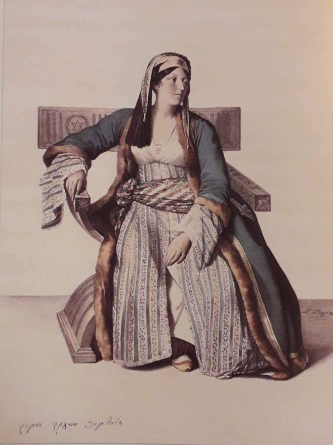 Γυναίκα κάθεται, με τα μάτια του ζωγράφου