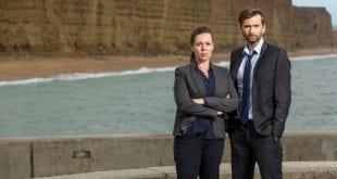 Οι πρωταγωνιστές στην σειρά του Netflix Broadchurch David Tennant και Olivia Colman