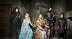 Σε φωτογραφία οι πρωταγωνιστές του Game of Thrones