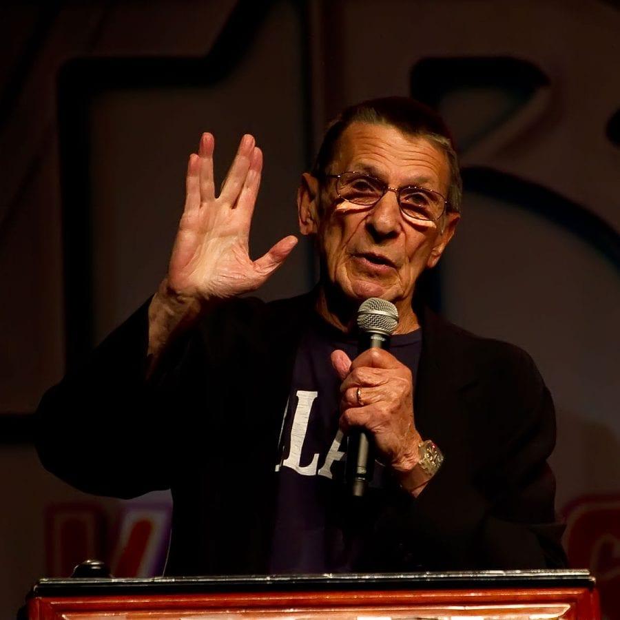 ο Leonard Nimoy έκανε τον Mr Spock στο Star Trek