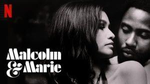Αφίσα της ταινίας Malcom & Marie του Netflix