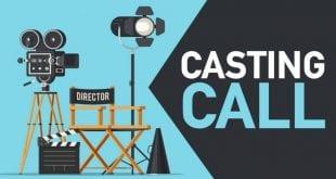 Εικόνα που αναγράφει casting call