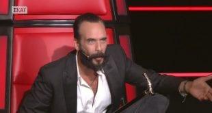 O Πάνος Μουζουράκης στο The Voice