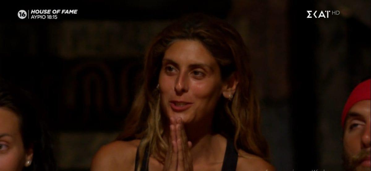 Η Ανθή Σαλαγκούδη πρώτη υποψήφια προς αποχώρηση από το Survivor