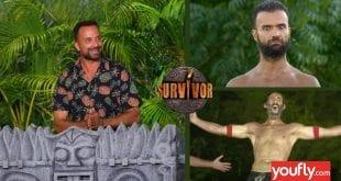 Κολάζ με σκηνές από το τρέιλερ 1/2 του Survivor