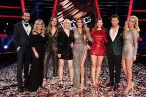η νικήτρια του The Voice Ιωάννα Γεωργακοπούλουστον τελικό με όλους τους coaches