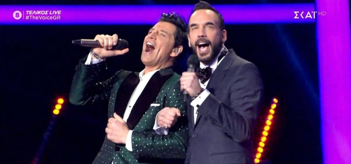 The-Voice-Σάκης-Ρουβάς-Πάνος-Μουζουράκης-