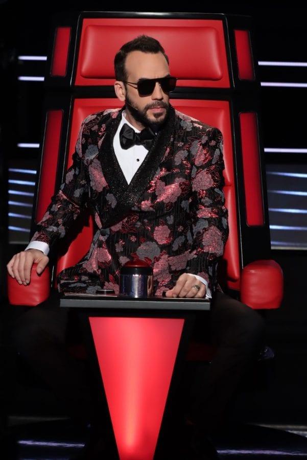 Ο Μουζουράκης στο The Voice