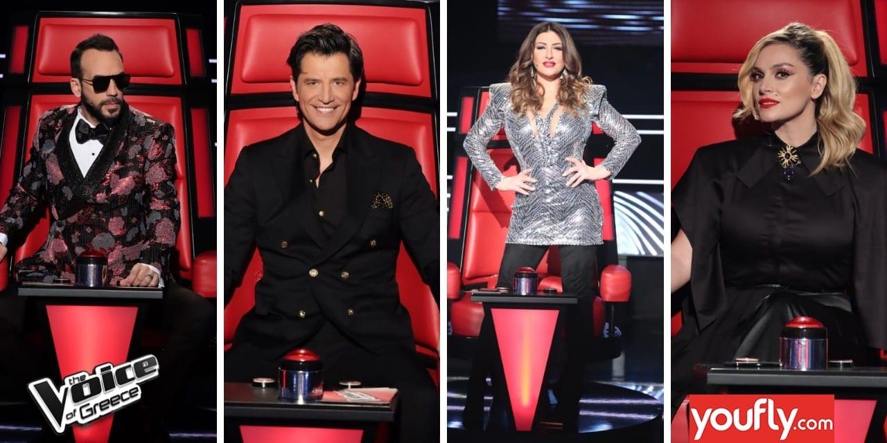 Κριτές The Voice τελικός
