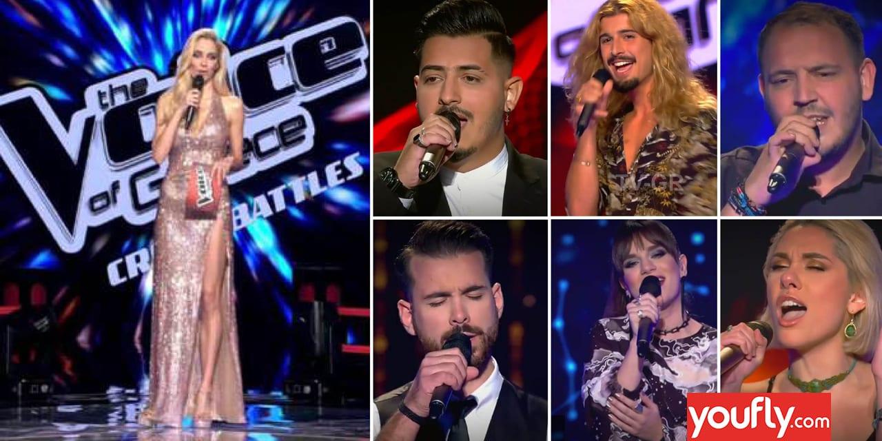 Σκηνές από το The Voice