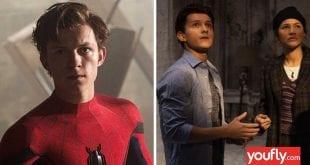 Κολάζ από Spider-Man 3 και τους πρωταγωνιστές