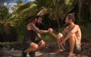 Ο Κώστας και ο Τριαντάφυλλος στο Survivor 24/2