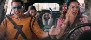 Σκηνή στο αμάξι από την ταινία Yed Day