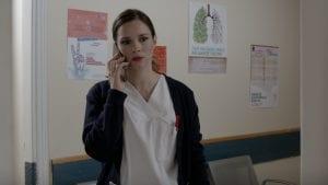 Η Λήδα στο νοσοκομείο μαθαίνει για τον θάνατο ασθενούς