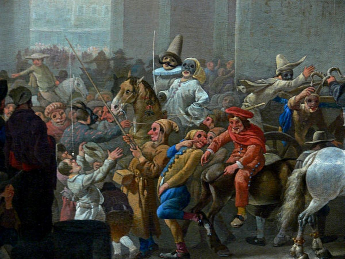ιστορία του καρναβαλιού απο την αρχαιότητα