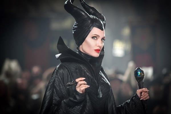 γυναίκες κακές ηρωίδες του κινηματογράφου όπως η Angelina Jolie στο Maleficent