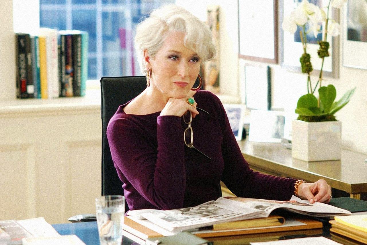 γυναίκες ηρωίδες - φωτογραφία με την Meryl Streep στην ταινία Devil wears prada