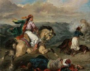 Επεισόδιο του ελληνικού αγώνα, από τα 11 έργα τέχνης