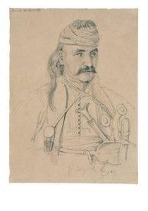 Θεόδωρος Κολοκοτρώνης, από τα έργα τέχνης στην Εθνική Πινακοθήκη