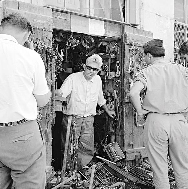 φωτογραφικο στιγμιοτυπο απο την Αθηνα του 1960