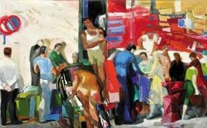 Λαϊκή αγορά, από τα έργα τέχνης στην Εθνική Πινακοθήκη