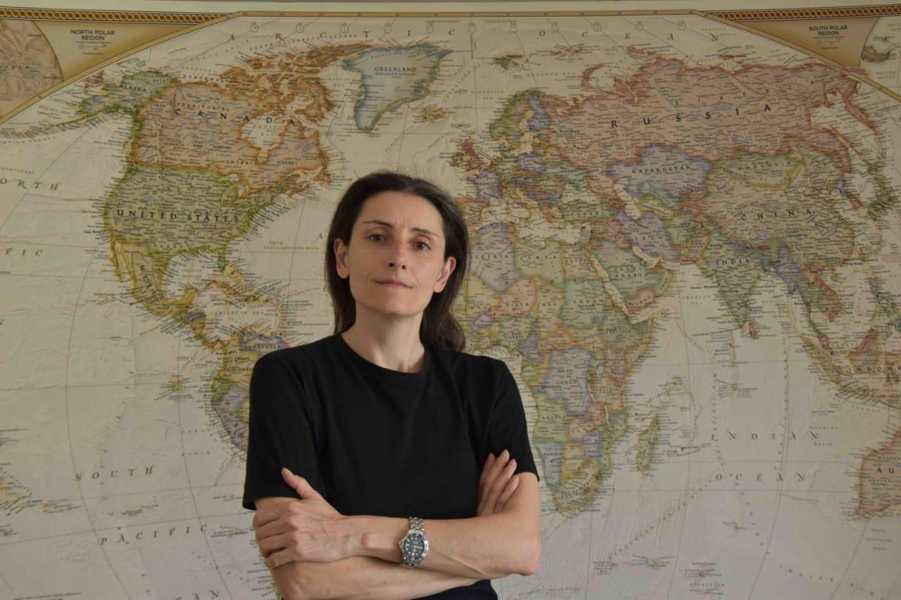η συγγραφέας του βιβλίου Το θηρίου βγήκε μια βόλτα από τις εκδόσεις Καστανιώτη