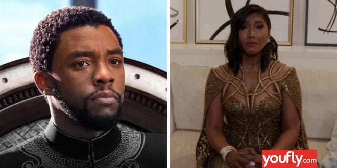 Ο ξεχωριστός λόγος της συζύγου του Chadwick Boseman στις Χρυσές Σφαίρες